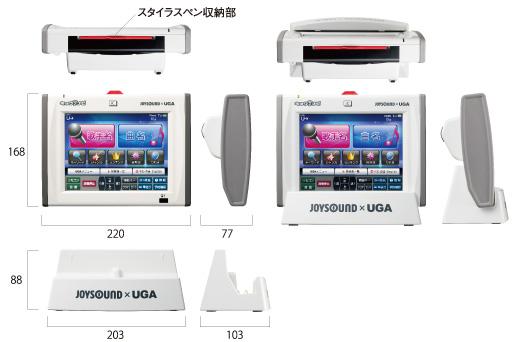 キョクナビセット / JR-300(BK) SET